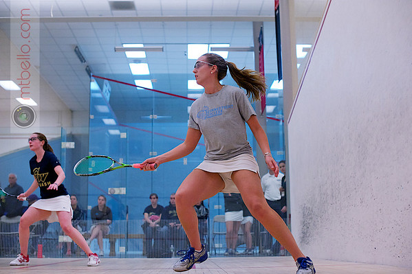 2012 Women's National Team Championships (Howe Cup): Tiffany Hingley (George Washington) and Naomi Mayeux (Conn College)