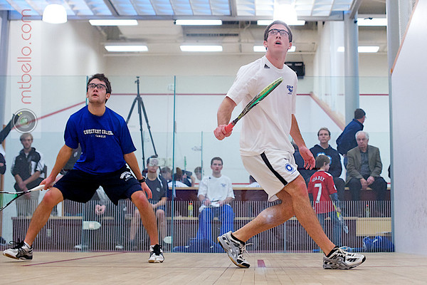 2011 Wesleyan Round Robin: 2011 Wesleyan Round Robin: Caleb Garza (Conn) and Harry Smith (Colby)