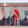 2012 Ivy League Scrimmages: Laura Caty (Cornell) and Kate Calihan (Columbia)