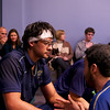2012 Cornell at Trinity: Antonio Diaz Glez being coached by Andres Vargas