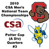 2010 Men's National Team Championships - Potter Cup Quarters, #3s: Hameed Ahmed (Rochester) and Arjun Gupta (Cornell)
