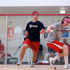2012 Ivy League Scrimmages: Owen Butler (Cornell) and John Dudzik (Penn)