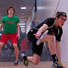 2013 College Squash Individual Championships: John Steele (Wesleyan) and Ryan Todd (Cornell)