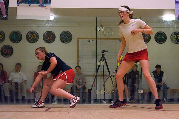 Kristen Lange (Penn) and Rebecca Hazell (Cornell)
