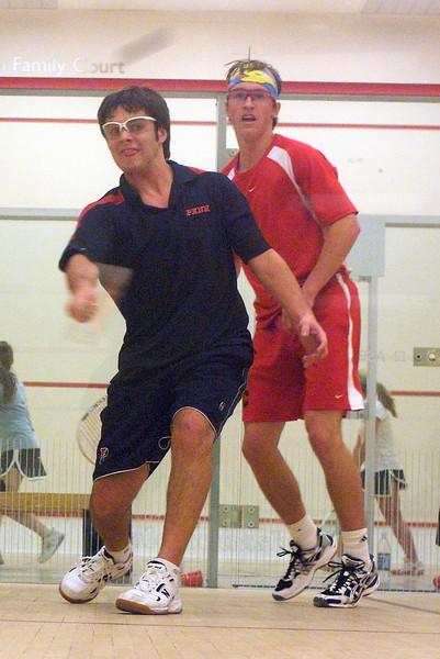 Mckay Claghorn (Cornell) and Alex Hoffman (Penn)