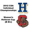 Holleran Cup (Round of 64): Rachel Au (Cornell) and Hannah Coffin (Hamilton)