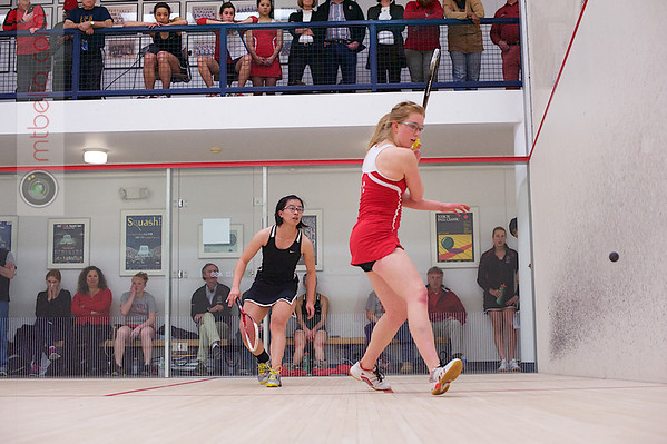 2013 Women's National Team Championships: Pamela Chua (Stanford) and Danielle Letourneau (Cornell)