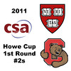 2011 Howe Cup - First Round - #2s: Jennifer Gemmell (Cornell) and Nirasha Guruge (Harvard)