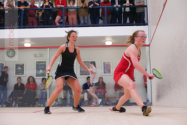 2013 Women's National Team Championships: Jaime Laird (Cornell) and Madeleine Gill (Stanford)