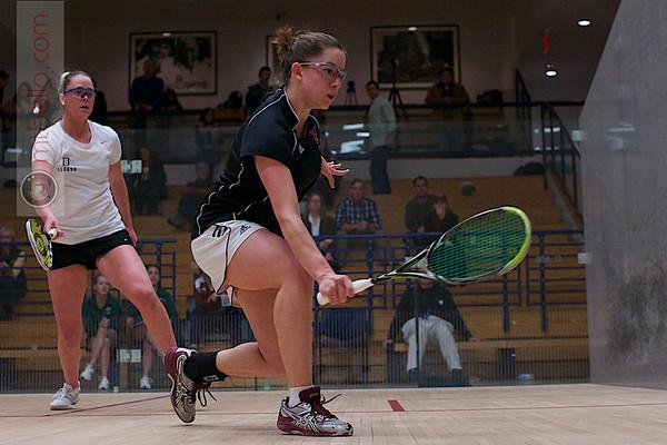2013 Women's National Team Championships: Nina Scott (Dartmouth) and Myriam Kelly (Bates)