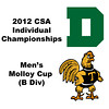 Molloy Cup (Round of 32): Matthew Mackin (Trinity) and Robert Maycock (Dartmouth)