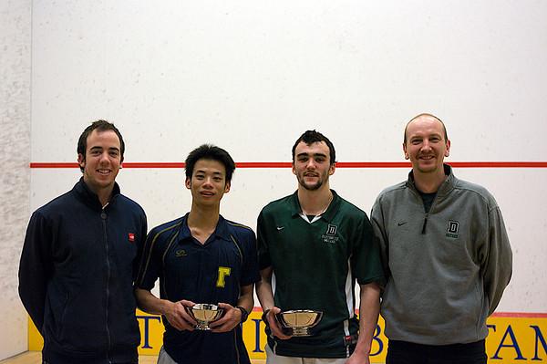 Regardt Schonborn (Trinity), Randy Lim (Trinity), Christopher Hanson (Dartmouth) and Hansi Wiens (Dartmouth)