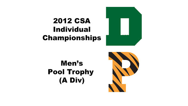Pool Trophy (Round of 32): Samuel Kang (Princeton) and Christopher Hanson (Dartmouth)