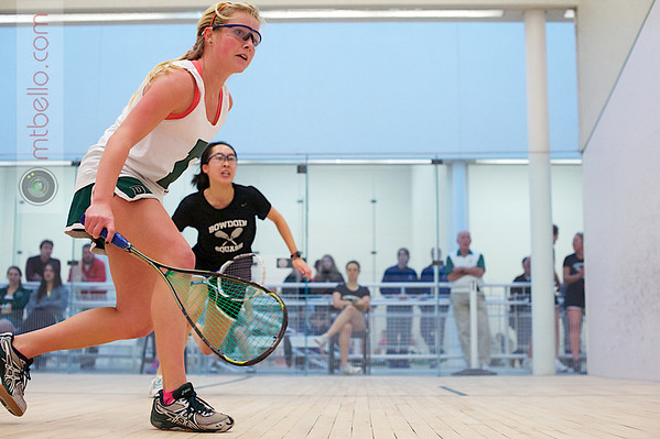 2012 Dartmouth Fall Classic: Bonnie Cao (Bowdoin) and Sarah Caughey (Dartmouth)