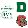 2011 Ivy League Scrimmages (Women): #2s Becky Lau (Dartmouth) and Jessenia Pacheco (Cornell)