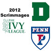 2012 Ivy League Scrimmages - W3s: Nicole Bunyan (Princeton) and Melina Turk (Dartmouth)