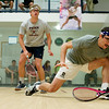 Thomas Mattsson (Penn) and Chris Hanson (Dartmouth)<br /> <br /> Published on page 11 of the 2011 Men's College Squash Association National Team Championship Program.