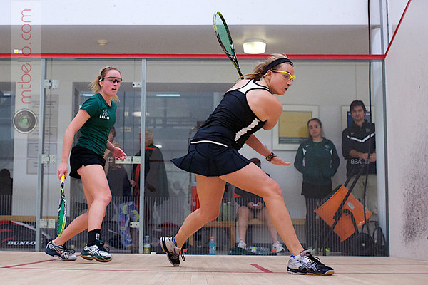 2012 Ivy League Scrimmages: Tara Harrington (Princeton) and Helena Darling (Dartmouth)