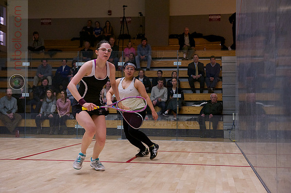 2012 Women's National Team Championships (Howe Cup): Laura Gemmell (Harvard) and Rebecca Lau (Dartmouth)