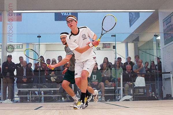 2012 Dartmouth Fall Classic: Chris Hanson (Dartmouth) and Andrew Hilboldt (Bowdoin)