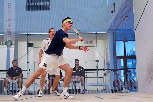 2012 Dartmouth Fall Classic: Bayard Kuensell (Dartmouth) and Mitch Bottini (Navy)