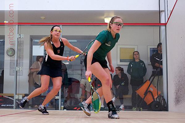 2012 Ivy League Scrimmages: Tara Harrington (Princeton) and Helena Darling (Dartmouth)