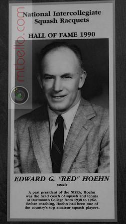 Men's College Squash Hall of Fame: Edward Hoehn