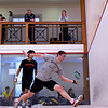 2012 College Squash Individual Championships: Chris Hanson (Dartmouth) and Samuel Kang (Princeton)