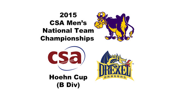 2015 MCSA Team Championships -  Hoehn Cup: Michael Thompson (Drexel) and Addington Graham (Williams)