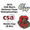 2015 MCSA Team Championships -  Hoehn Cup: Jordan Brail (Cornell) and James Reiss (GWU)