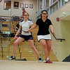 Jennifer Hearn (St. Lawrence) and Katie O'Mealia (Georgetown)