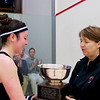 2012 College Squash Individual Championships: Amanda Sobhy (Harvard) and Gail Ramsay (Princeton)