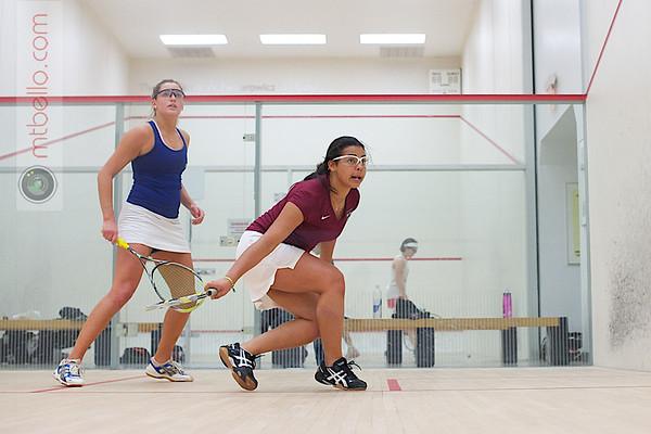 Yuleissy Ramirez (Harvard) and Katie Harrison (Yale)