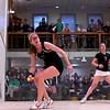 2012 College Squash Individual Championships: Amanda Sobhy (Harvard) and Julie Cerullo (Princeton)