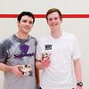 2012 College Squash Individual Championships: Tom Mullaney (Harvard) and Hunter Abrams (Navy)