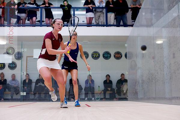 Rhetta Nadas (Yale) and Haley Mendez (Harvard)  - 2011 Ivy League Scrimmages