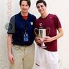 2012 College Squash Individual Championships: Mark and Ali Farag (Harvard)