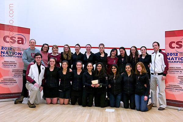 2012 Women's National Team Championships (Howe Cup): Harvard