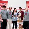 2011 College Squash Individual Championships: Luke Hammond, Reg Schonborn, Amanda Sobhy (Harvard), Ali Farag (Harvard), and Mike Way