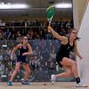 2012 Women's National Team Championships (Howe Cup): Natasha Kingshott (Harvard) and Gwendoline Tilghman (Yale)<br /> <br /> Published on page 36 of Squash Magazine (March 2012)