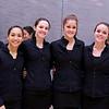 2012 Women's National Team Championships (Howe Cup): Cece Cortes, Laura Gemmell, Natasha Kingshott, and Eliza Calihan