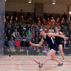 2012 Women's National Team Championships (Howe Cup): Amanda Sobhy (Harvard) and Millie Tomlinson (Yale)