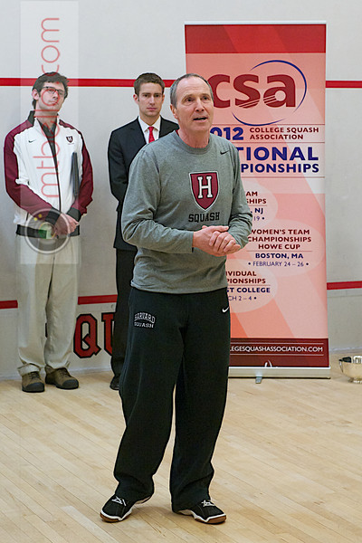 2012 Women's National Team Championships (Howe Cup): MIke Way (Harvard)