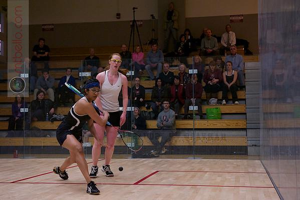 2012 Women's National Team Championships (Howe Cup): Nirasha Guruge (Harvard) and Sarah Loucks (Dartmouth)