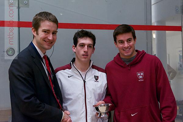 2013 Men's National Team Championships: Zeke Scherl and Jason Michas (Harvard)