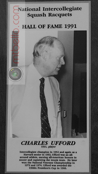 Men's College Squash Hall of Fame: Charles Ufford