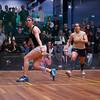2013 College Squash Individual Championships: Amanda Sobhy (Harvard) and Kanzy El Defrawy (Trinity)