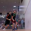 2013 College Squash Individual Championships: Samuel Kang (Princeton) and Gary Power (Harvard)