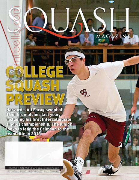 "2012 College Squash Individual Championships: Ali Farag (Harvard) and Vikram Malhotra (Trinity) <br><br> <a href=""http://www.mtbello.com/Portfolio/Squash-Magazine-Covers/26976705_DbcFcM#!i=2261365882&amp;k=QM3czzM"">Published on the cover of Squash Magazine (October 2012)</a> <br><br> Published again on pages 25 and 28 of the October 2017 Squash Magazine (Five Year Anniversary)"