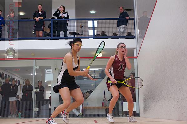2013 Women's National Team Championships: Saumya Karki (Harvard) and Serena Fagan (Stanford)